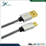 Telefone móvel que cobra o tipo cabo do USB de C ao cabo do USB 2.0 a/Male