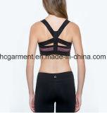 여자 스포츠 브래지어, 살짝 미는 한 벌 운동복, 운영하는 의류, 요가 착용