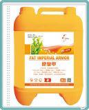 Fertilizante líquido do ácido Humic de qualidade superior na água da agricultura - acta solúvel do fertilizante NPK200g/L