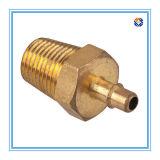 Messingbefestigungsteil-Schraube durch die CNC maschinelle Bearbeitung