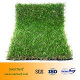 EMC-Qb, een Zacht Synthetisch Gazon van het Gras van het Gras van de Vezel Vals Kunstmatig voor de Prijs van de Decoratie van de Tuin