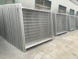Горячие окунутые гальванизированные стальные материалы 2100mm x 2400mm для загородки запаса Oceania временно
