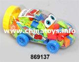教育おもちゃ、DIYのおもちゃのBukldingのプラスチックブロック(869135)