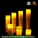 Flammenlose LED-Wachs-Kerze für Ostern-Feiertags-Dekoration