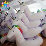 Galleggianti di galleggiamento gonfiabili del raggruppamento dell'aria della sosta dell'acqua del cigno del Pegasus dell'unicorno