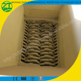 Una trinciatrice delle due aste cilindriche per legno/plastica/spreco/vetro/metallo/gomma piuma/sofà/gomma