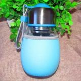 400ml leeren trinkende Glasflasche, Glasflasche, Wasser-Glasbehälter