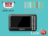 dvb-T2 4.3inch de Mini Draagbare Mobiele Ontvanger van TV