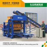 Piccoli macchine del blocco in calcestruzzo Qt4-25/macchinario del mattone per le piccole industrie