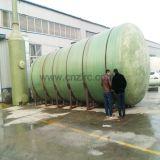 Обработка перевозки бака для хранения мазута FRP горизонтальная химически