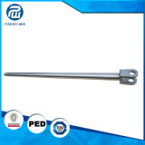 O aço inoxidável feito-à-medida forjou o pistão Rod para o cilindro hidráulico