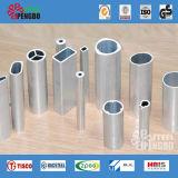 Tubo de Aço Galvanizado brilhante de prata para mobiliário
