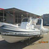 Venda inflável do barco do reforço do barco de Hypalon do barco de Liya 6.6m FRP