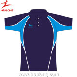 Plein de Sublimation de Colorant hommes Slim Fit Polo Shirt Sports wear