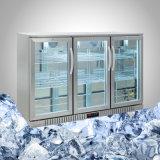 Sob a geada contrária do congelador livrar