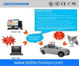 3G / 4G Gestión de Clúster Techo de Taxi Junta LED P5mm Exterior Impermeable