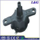 4 Sélecteur de vitesse du ventilateur électrique contacteur tournant (3210)