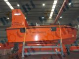 O fuzileiro naval FRP aberto jejua barco salva-vidas inflável do pára-choque das pessoas do salvamento 8120