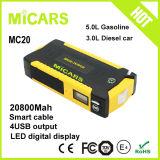 dispositivo d'avviamento multifunzionale portatile di salto dell'automobile 12V della batteria Emergency 20800mAh