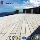 Suelo de madera plástico de la terraza del balcón del Decking al aire libre de la madera dura