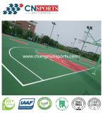 Vloer de van uitstekende kwaliteit van het Hof van de Sport van Spu van het Kussen (de Bevloering van Pu)