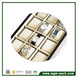 Hölzerner Uhr-Kasten des hohen glatten Luxuxlack-2017