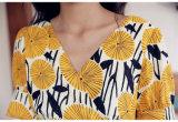 Form-Frauen-Kleid mit kurzer Hülse für Frauen