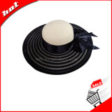 Mulher Papel Disquete Chapéu de Palha chapéu de moda