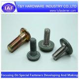 Kohlenstoffstahl-/Stainless-Stahl mit Plastikschutzkappen-Flosse-Stutzen-Schrauben