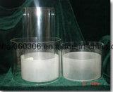 Tube de cylindre en verre Pyrex transparent la lumière de l'ombre