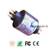Od 32mm Capsule Slip Ring / Conector com ISO / Ce / FCC / RoHS,