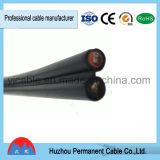 Deux câble solaire flexible de l'en cuivre XLPE de faisceau pour le TUV reconnu