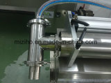 Mzh-F 2ヘッド半自動Horizonalの液体の充填機