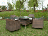 Mobiliario de casa Patio Río Patio al Aire Libre Set Rattan Sofá Sofá de mimbre Muebles de jardín Set