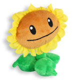 사랑스러운 만화 디자인 주문품 연약한 견면 벨벳에 의하여 채워지는 꽃 장난감