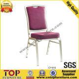 Modelo novo que empilha as cadeiras de alumínio do banquete