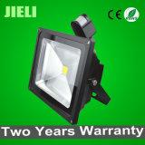 熱い販売の高い発電30W黒いLED PIRセンサーのフラッドライト