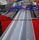 Kurbelgehäuse-Belüftung außerhalb Wand-Abstellgleis-Produktions-Maschinerie-der dekorativen Blatt-Strangpresßling-Zeile