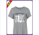 Fashion Sexy T-shirt impresso para as mulheres (W191)