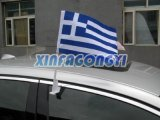 Drapeau de miroir de voiture en plein air / Customized Car Flag / Digital Printing Car Banner