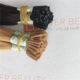 前に担保付き私は人間の毛髪の良質の100%年のバージンの人間の毛髪をひっくり返す