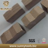 고품질 다이아몬드 세그먼트, 화강암을%s 세그먼트, 화강암 세그먼트