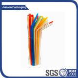 Het kleurrijke Kleine Plastic Stro van de Grootte
