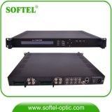 4 en 1 de la DVB-C/S/S2 RF a Asi/IP con 48 Spts IRD HD a través de IP UDP