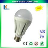 9W A60 밝은 LED 전구