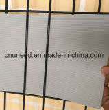 100%UV 저항 Ral7040 1.3mm 19cm*2.525m 수사슴 PVC Sichtschutzstreifen 담