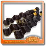 O cabelo humano da onda frouxa peruana nova é o melhor