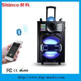 15 polegadas quadrados de dança alto-poderoso alto-falante portátil Bluetooth Bluetooth