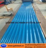 Techo de acero corrugado PPGI Hoja con Color RAL