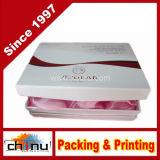 Коробка подарка бумажная твердая, трудная коробка (3115)